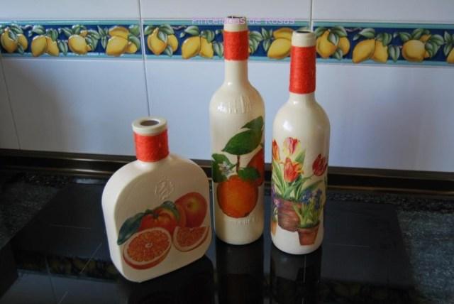 Botellas para aprovechamiento