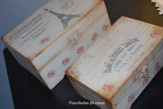 Cajas Vintage con transferencias (1)