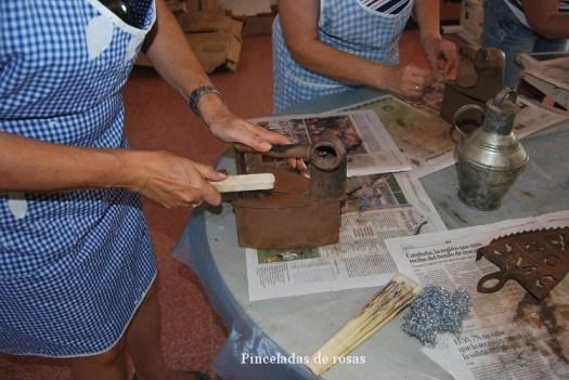 La plancha de carbón de Mª Luz (2)