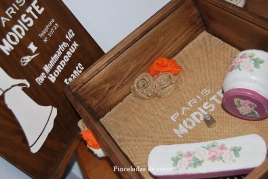 Caja para la costura teñida!
