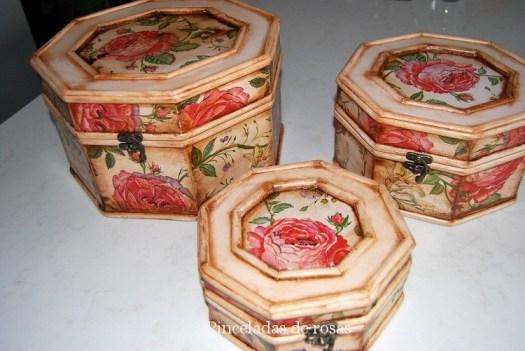 Conjunto-cajas-vintage-añejo-antiguo