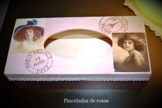 Caja-de-madera-para-pañuelos-estilo-Vintage
