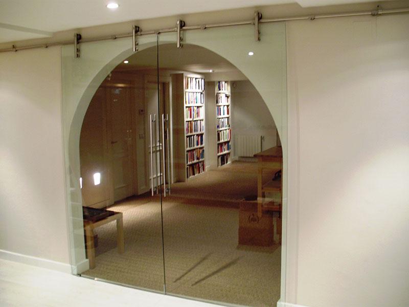 PINCEL CRISTAL  Mamparas de bao y puertas de cristal con