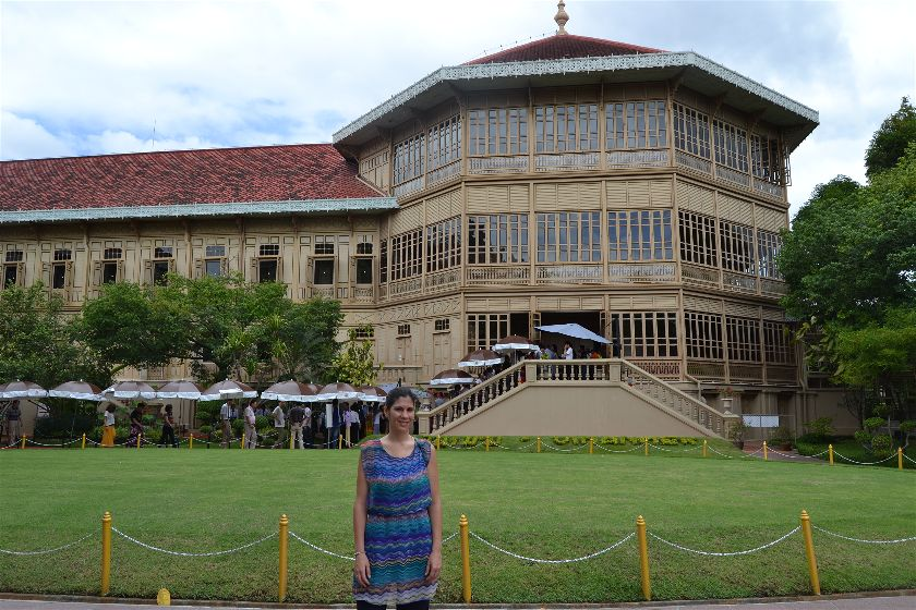 Palacio Vimanmek, Bangkok, Tailandia