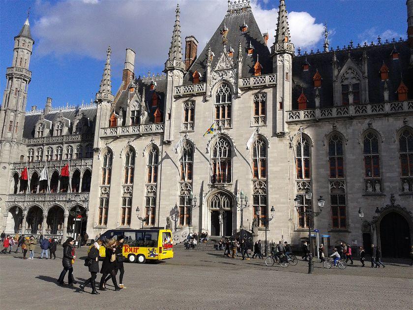 Palacio de la Provincia, Brujas, Bélgica