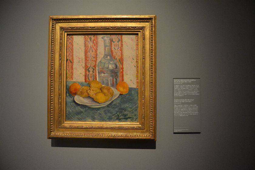 Carafe and Dish with Citrus Fruit (Van Gogh), Rijksmuseum, Amsterdam, Paises Bajos