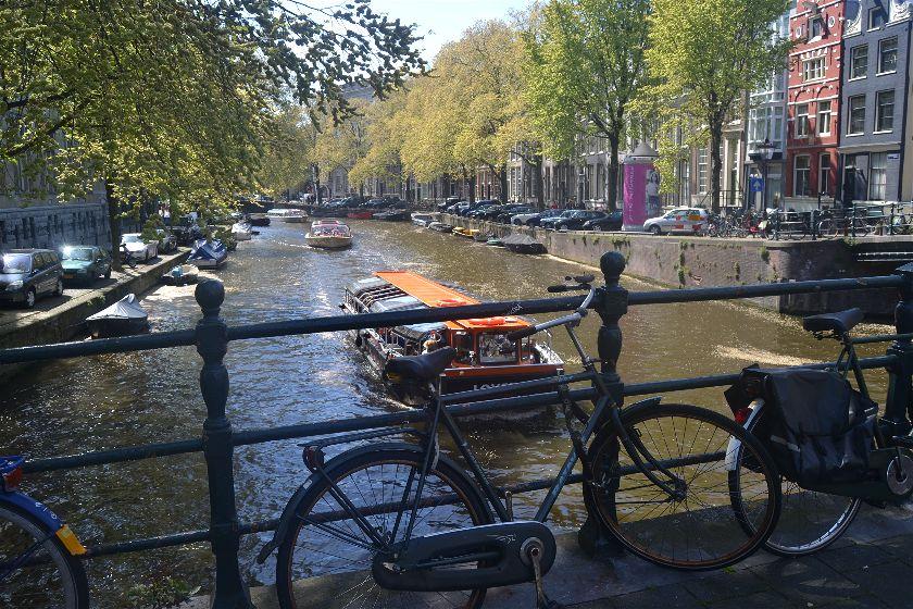 Diario Amsterdam- Mayo 2017: Día 1: Singel, Westerkerk, Casa de Ana Frank, Plaza Dam, Begijnhof, Bloemenmarkt