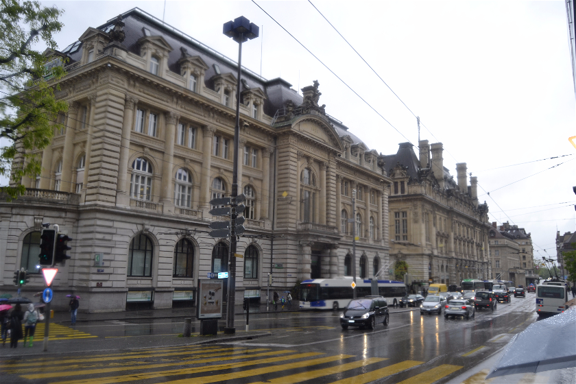Banco Cantonal Vadois, Laussane, Suiza