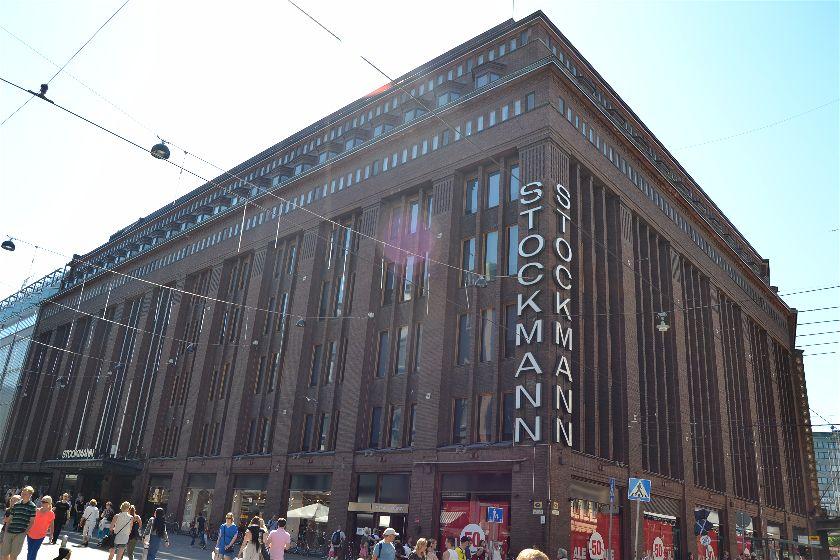 Stockman Mall, Helsinki, Finlandia