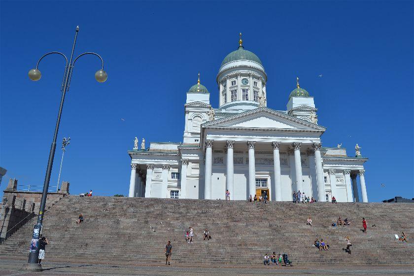 catedral Tuomiokirkko, Helsinki, Finlandia