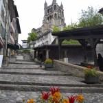 Diario Suiza - Mayo 2015: Días 1,2: Lausanne: Catedral, Escaleras Mercado, Plaza Palud, Ayuntamiento, Castillo St Maire, Castillo Ouchy, Palacio Rumine