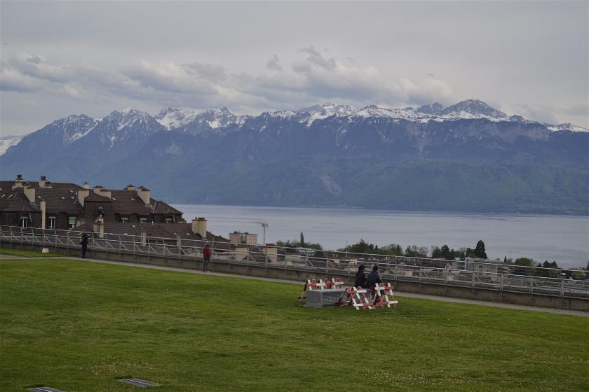 Esplanada Montbenon, Laussane, Suiza