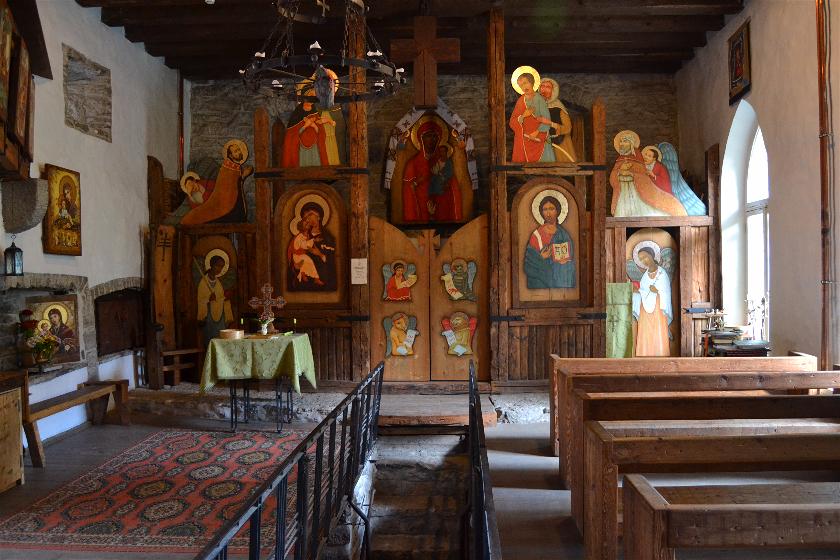 Iglesia Medieval, Tallin, Estonia