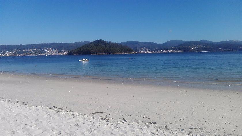 Playa Chancelas, Chancelas, Pontevedra, España