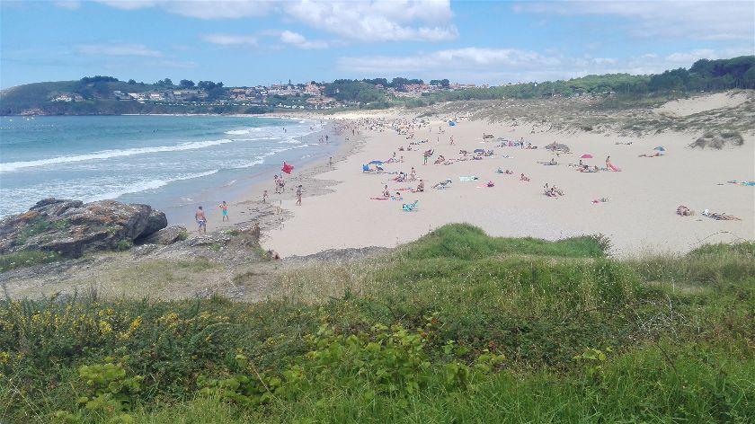 Playa Montalvo, Sanxenxo, Pontevedra, España