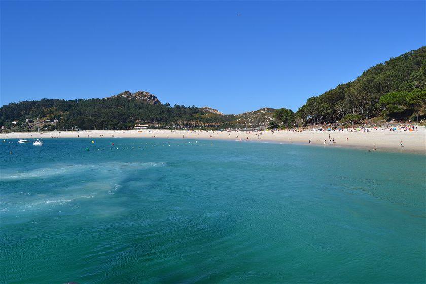 Playa de Rodas, Islas Cíes, Pontevedra, España