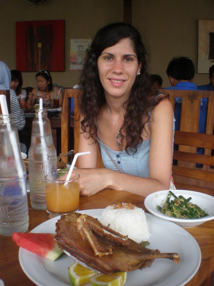 Restaurante Bebek Bengil, Bali, Indonesia
