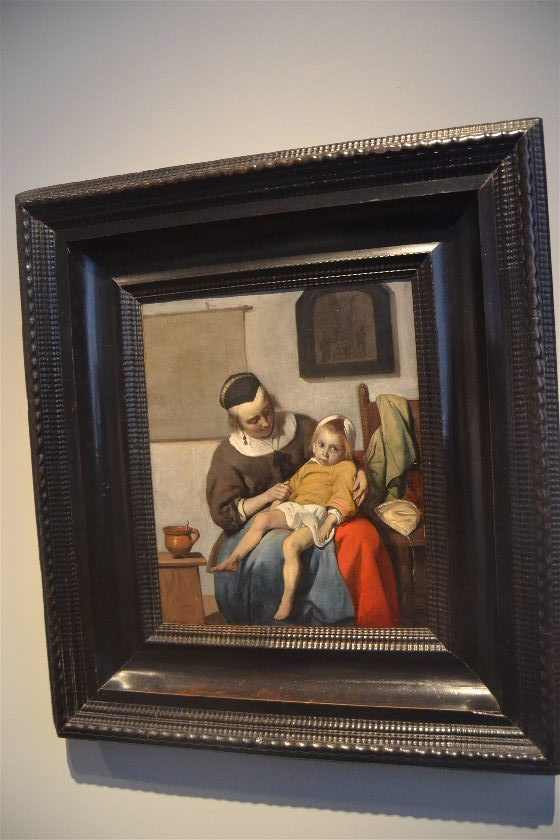 The Sick Child (Gabriël Metsu), Rijksmuseum, Amsterdam, Paises Bajos