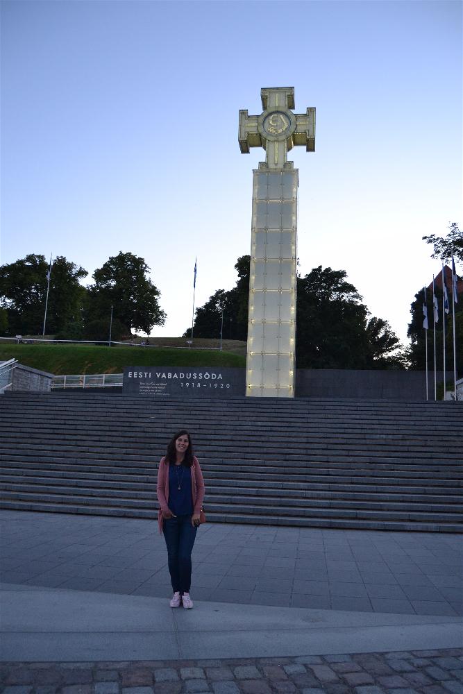 Vabaduse Valjak (Plaza de la Libertad), Tallin, Estonia