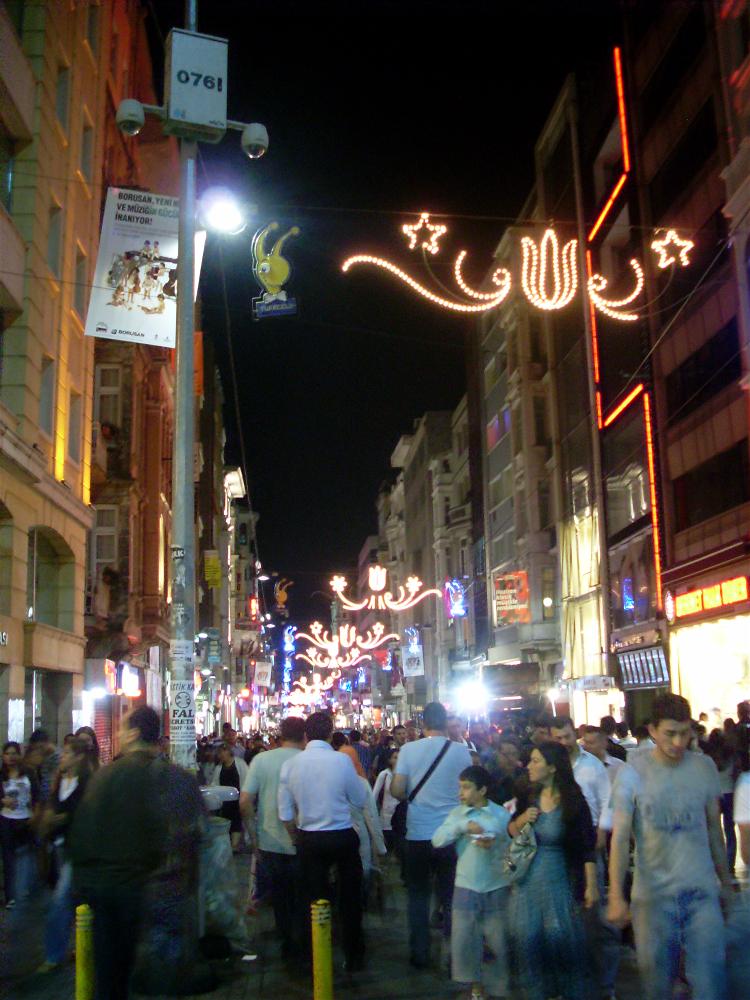 Istiklal Caddesi, Estambul, Turquia