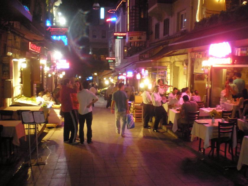Sahne Sokak, Estambul, Turquia