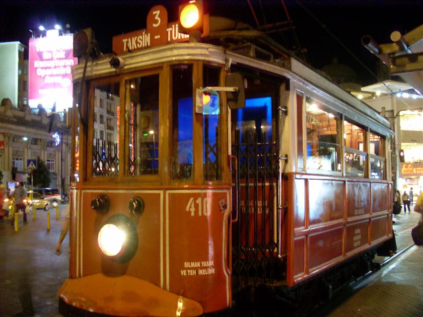 Tranvia Nostalgico, Estambul, Turquia