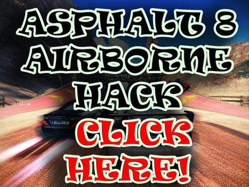 asphalt 8 hack