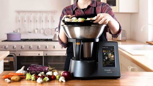 mejores robots de cocina taurus muycook touch black edition