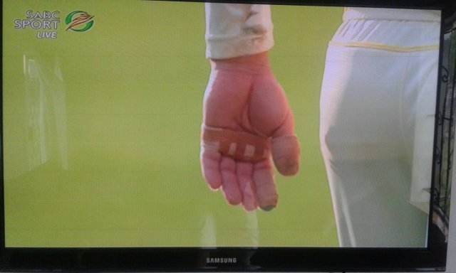 Is there no cricket in South Africa to report on?