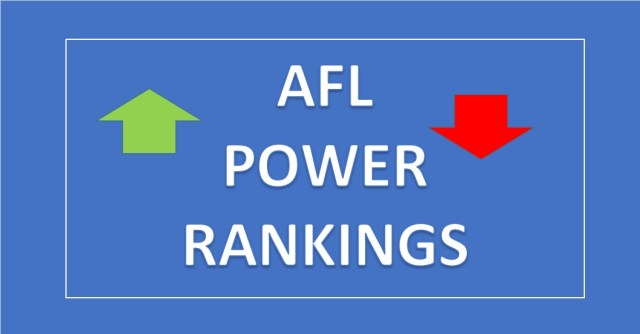 AFL Power Rankings – Round Eight