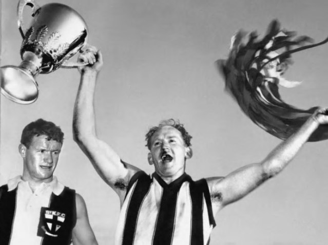Flashback Friday: The most famous St Kilda v Collingwood Clash of them all