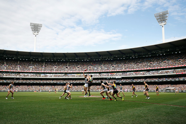 Collingwood Commentary: Saturday Afternoon at the 'G