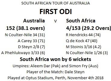 First ODI 1