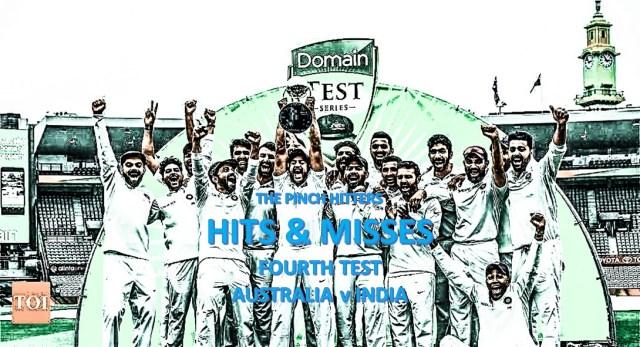 Hits and Misses: Australia v India – Fourth Test