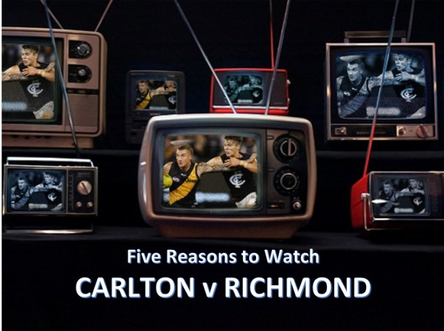 AFL Round One 2019: Carlton v Richmond – Five Reasons to Watch
