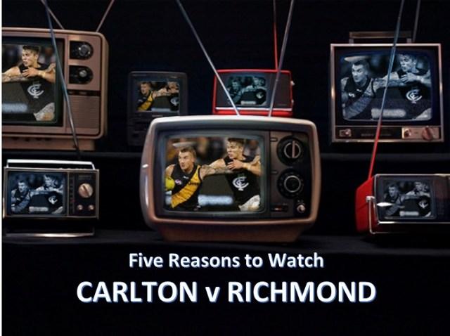 AFL Round One 2019: Carlton v Richmond – Five Reasons to Watch