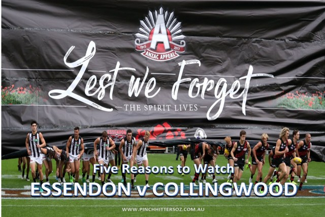 AFL Round Six Preview: Essendon vs Collingwood, ANZAC Day