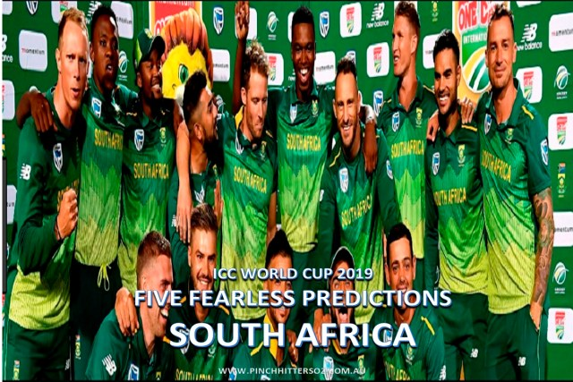 Five Fearless Predictions: South Africa at the 2019 World Cup