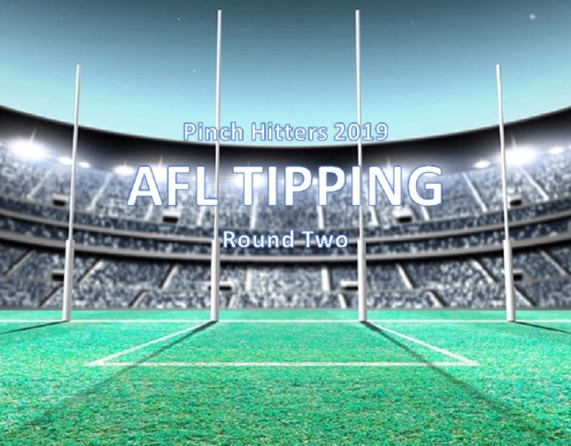 AFL 2019 – Round Two Tips