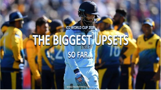 CWC 2019: The biggest upsets (so far)