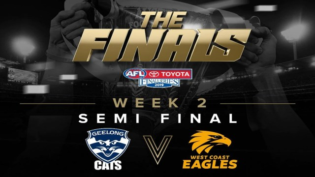 AFL 2019: Semi Final Preview – Geelong vs West Coast