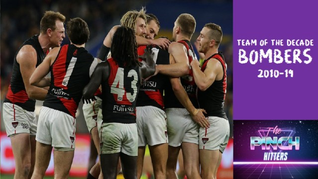 Essendon Team of the Decade (2010-19)