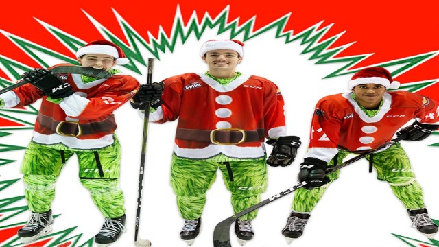What has the Grinch got to do with Ice Hockey?