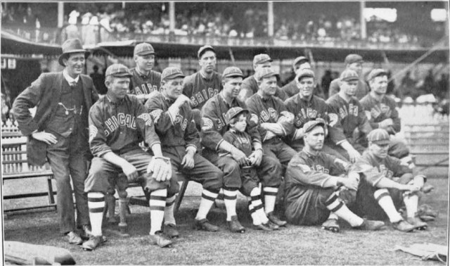 Chicago White Sox MCG January 1914