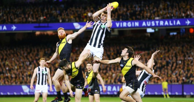 Mason Cox flies high in the Pinch Hitters Top Six Magpie Moments of the 2010's.