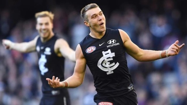 Patrick Cripps day out against the Lions was one of the Pinch Hitters Top Five Individual Performances of 2019.