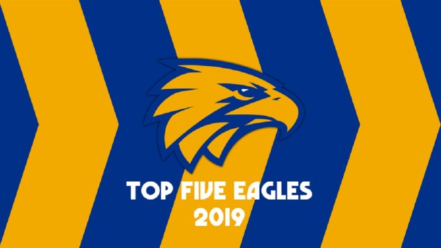 AFL 2019: Top Five Eagles