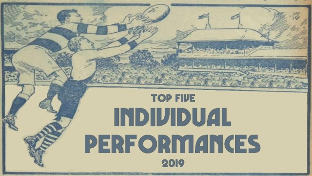 AFL 2019: Top Five Individual Performances