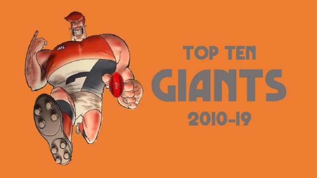 Top Ten Giants 2012-19