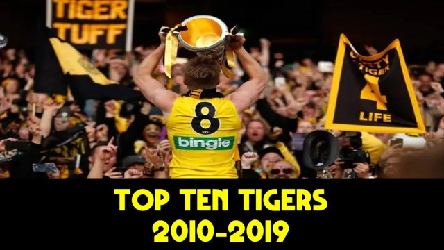 Top 10 Tigers of the Decade (2010-19)